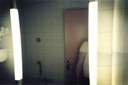 hotel bathroom, east berlin