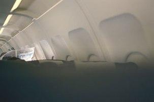newspaper - aeroplane, madrid
